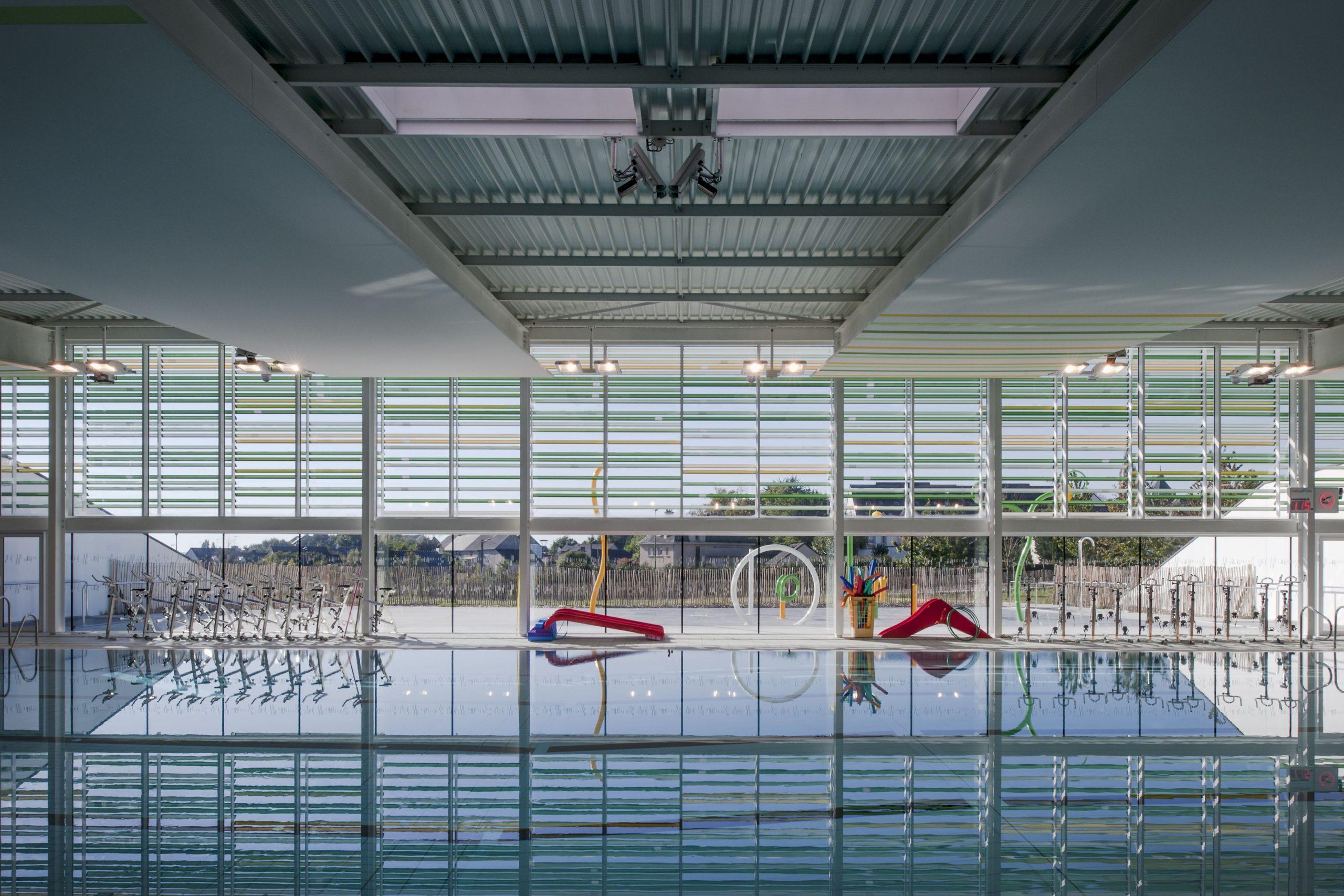Centre Aquatique - Janzé (© Patrick Miara) | Piscine, Aquatique intérieur Piscine Janzé