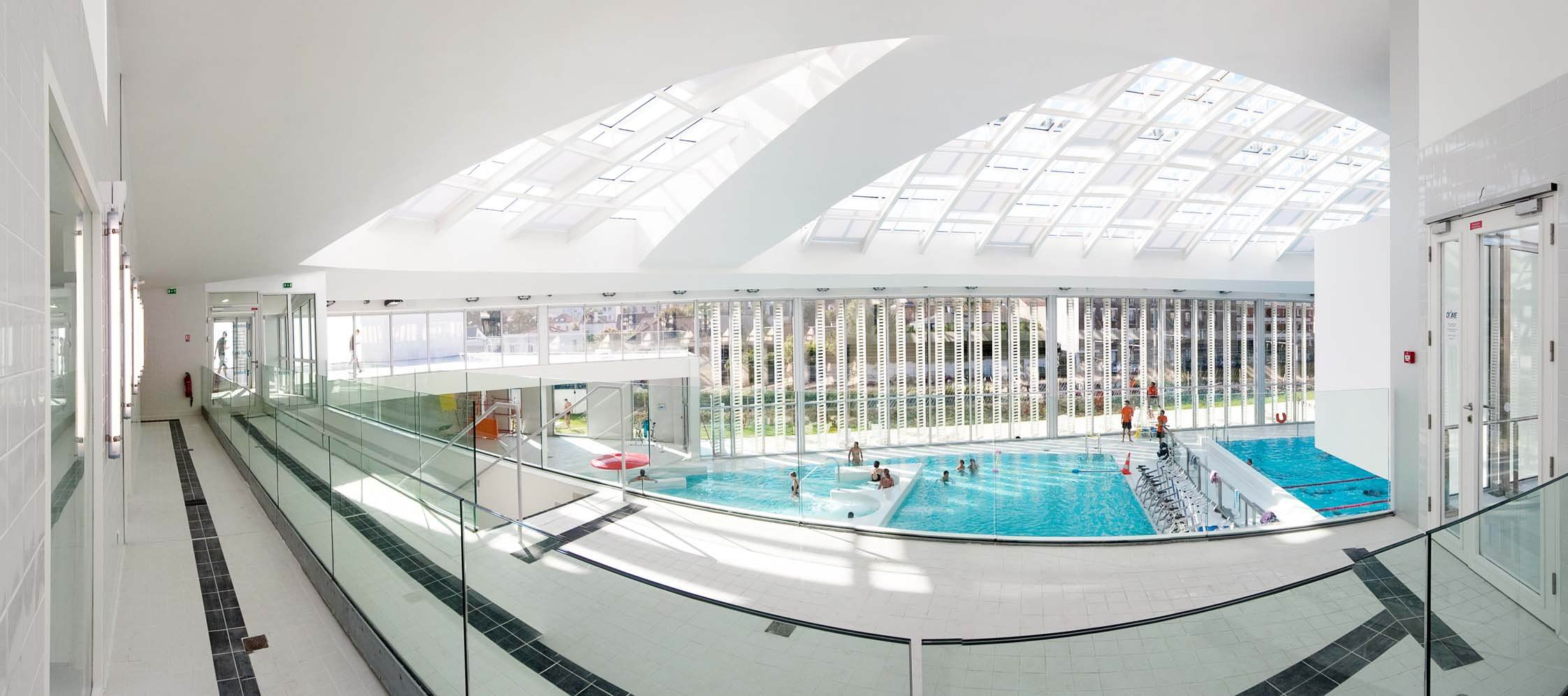 Centre Aquatique Le Dôme, Vincennes (94) | Urbaine De Travaux intérieur Piscine Dome Vincennes