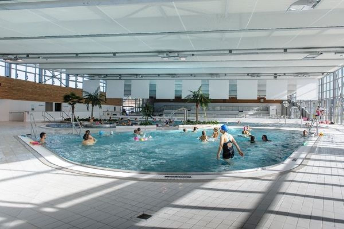 Centre Aquatique Les Grands Bains - Piscine À Herblay ... destiné Piscine D Herblay