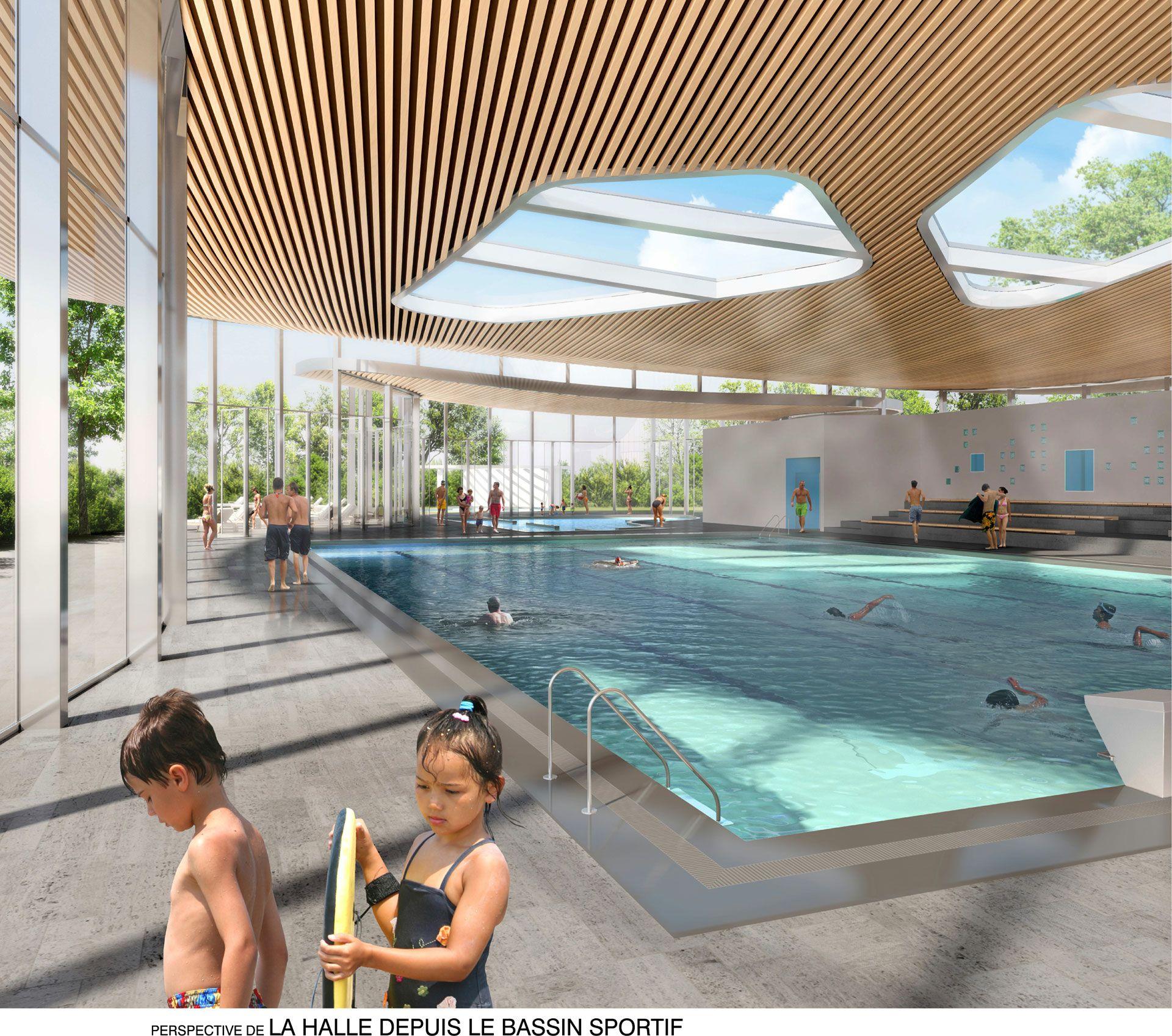 Centre Aquatique, Mazamet | Agence D'architecture Olivier ... dedans Piscine Mazamet