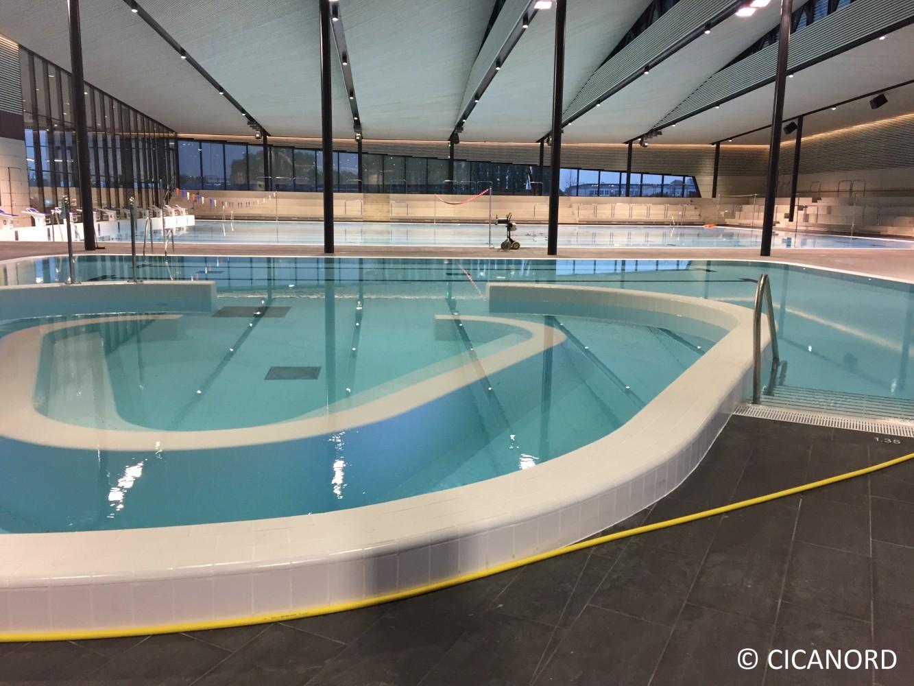 Centre Aquatique Sourcéane À Sin-Le-Noble (59) | Cicanord concernant Piscine Sin Le Noble