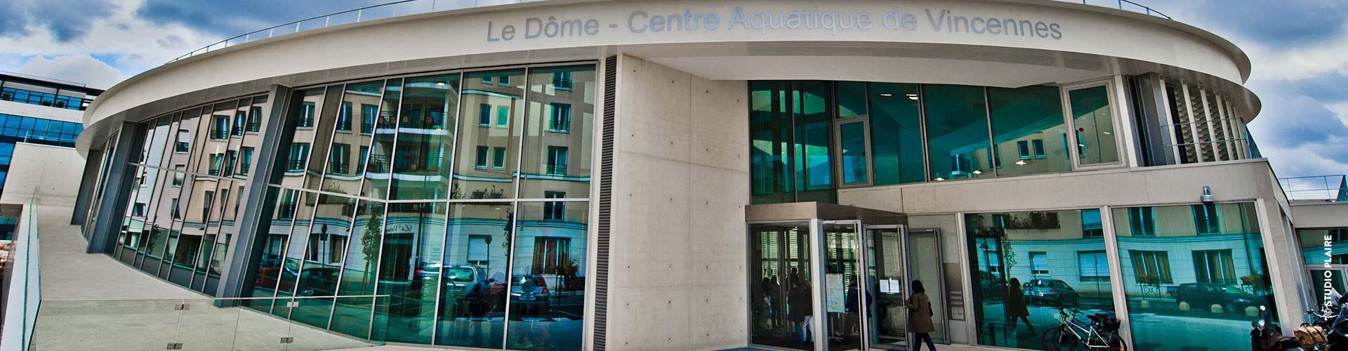 Centre Aquatique | Ville De Vincennes dedans Piscine Dome Vincennes