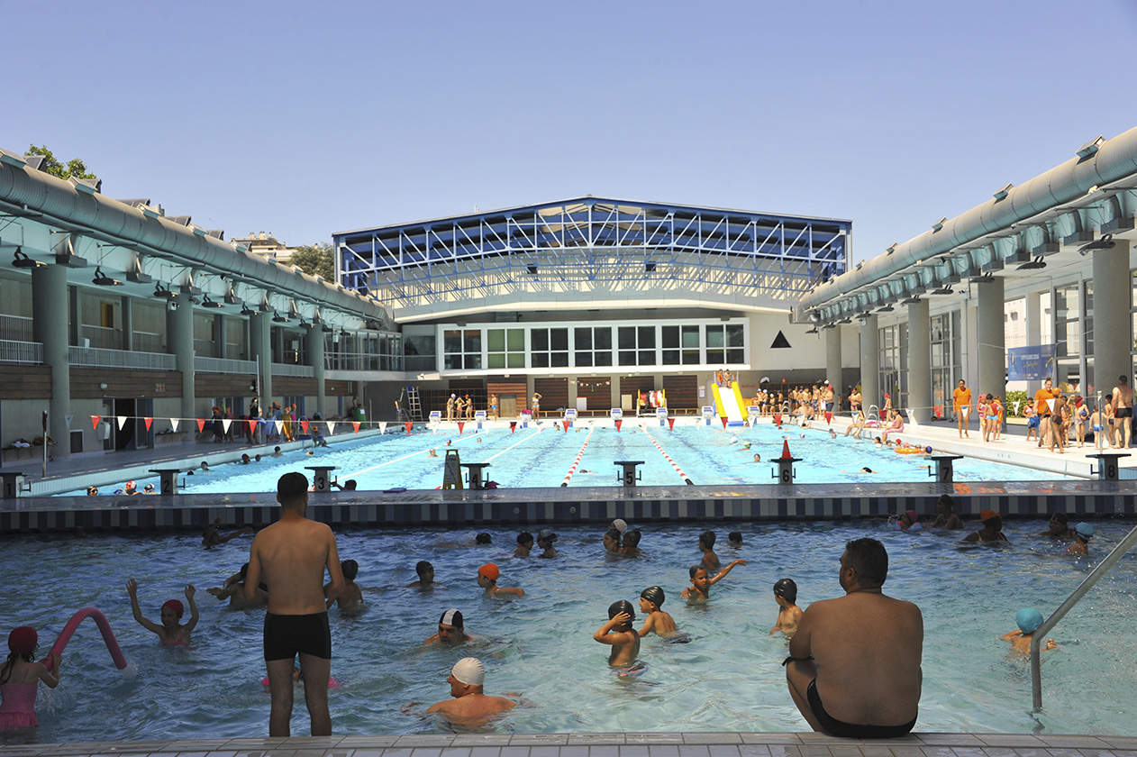 Centre Nautique André Sousi | Ville De Bron destiné Piscine Bron