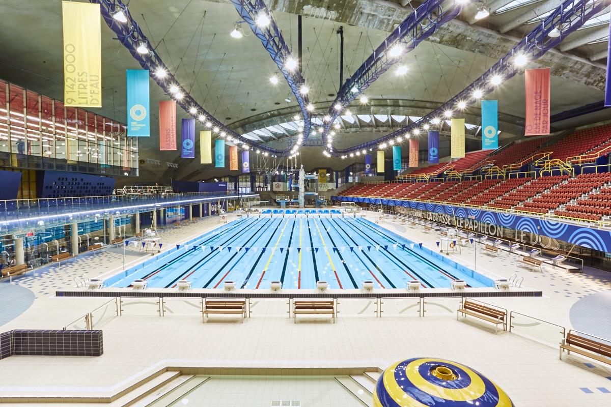 Centre Sportif Du Parc Olympique De Montréal — Wikipédia concernant Dimension Piscine Olympique