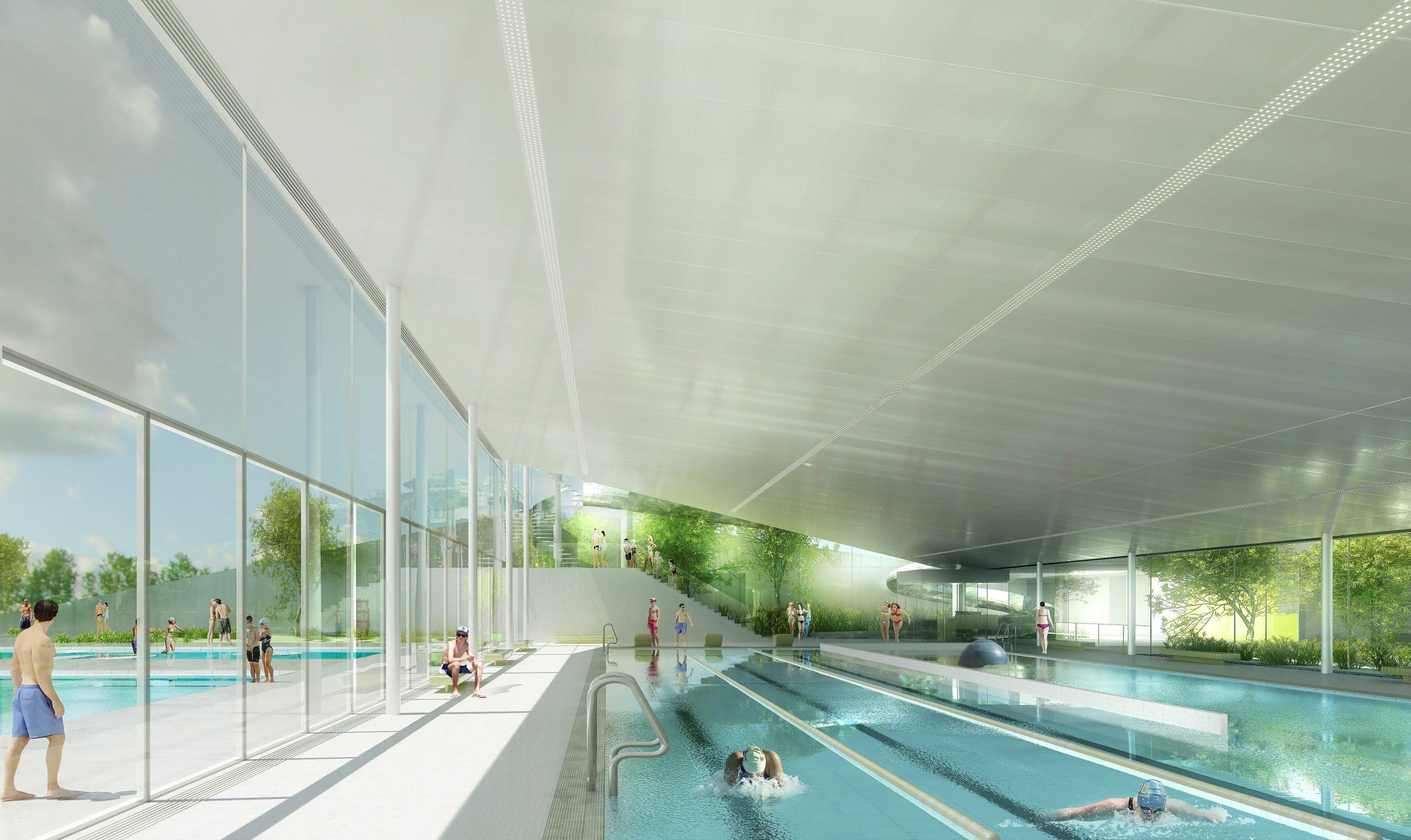 Centres Aquatiques – Page 3 – Ethis Ingénierie concernant Piscine Saint Fulgent