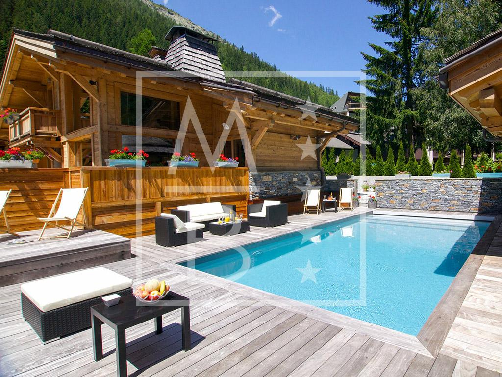 Chalet With Pool In Chamonix For Private Event | Mont Blanc ... à Piscine De Chamonix