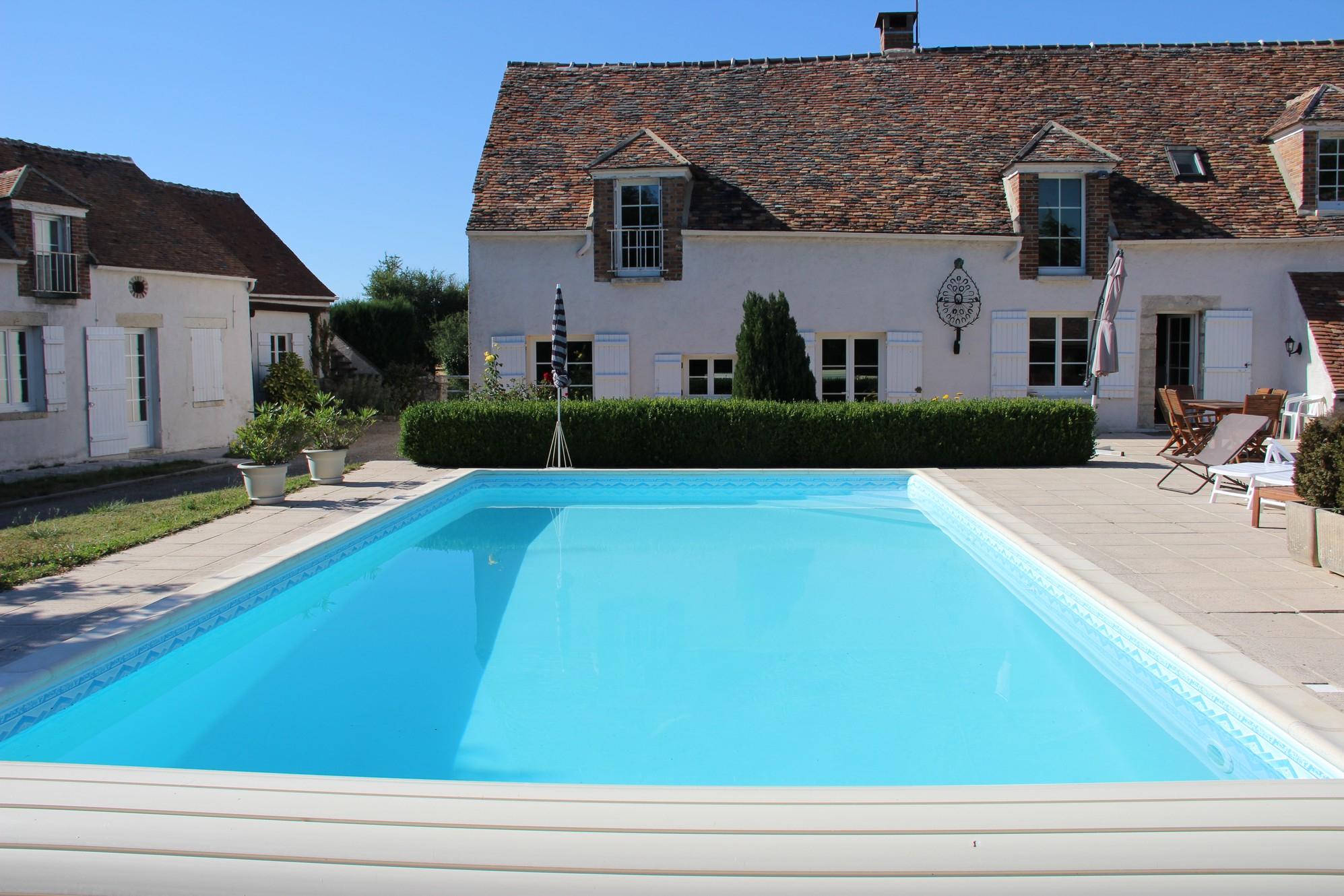 Chambres D'hôtes Egreville | France | La Féranderie tout Piscine De Moret Sur Loing