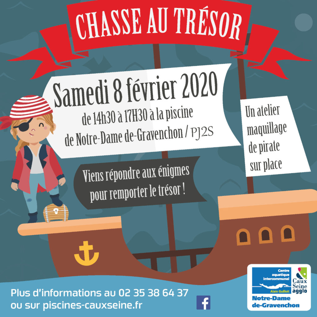 Chasse Au Trésor Dans Votre Piscine De Ndg/pj2S, Samedi 8 ... dedans Piscine Bolbec