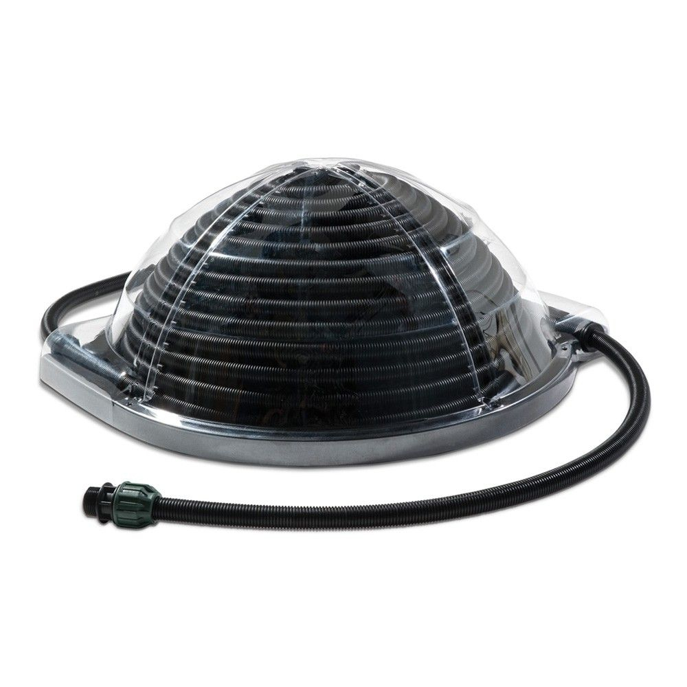 Chauffage Solaire Aquadome Piscine -- Ecologique Protégé ... destiné Réchauffeur Piscine