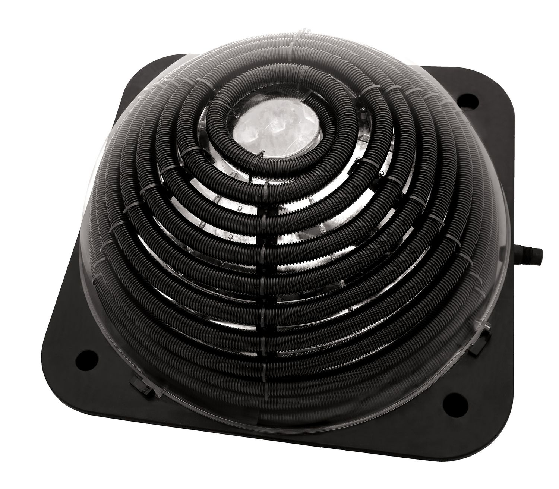 Chauffe-Eau Dôme Solaire De 24 Po Pour Piscines Hors-Sol Avec Connecteurs  Standard De 1,25 À 1,5 Po. avec Chauffage Pour Piscine Hors Sol