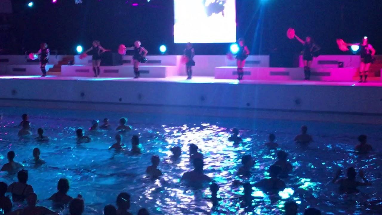 Cheerlead'eure Nuit De L'aquafitness Caseo Louviers 13/11 ... avec Piscine Louvier