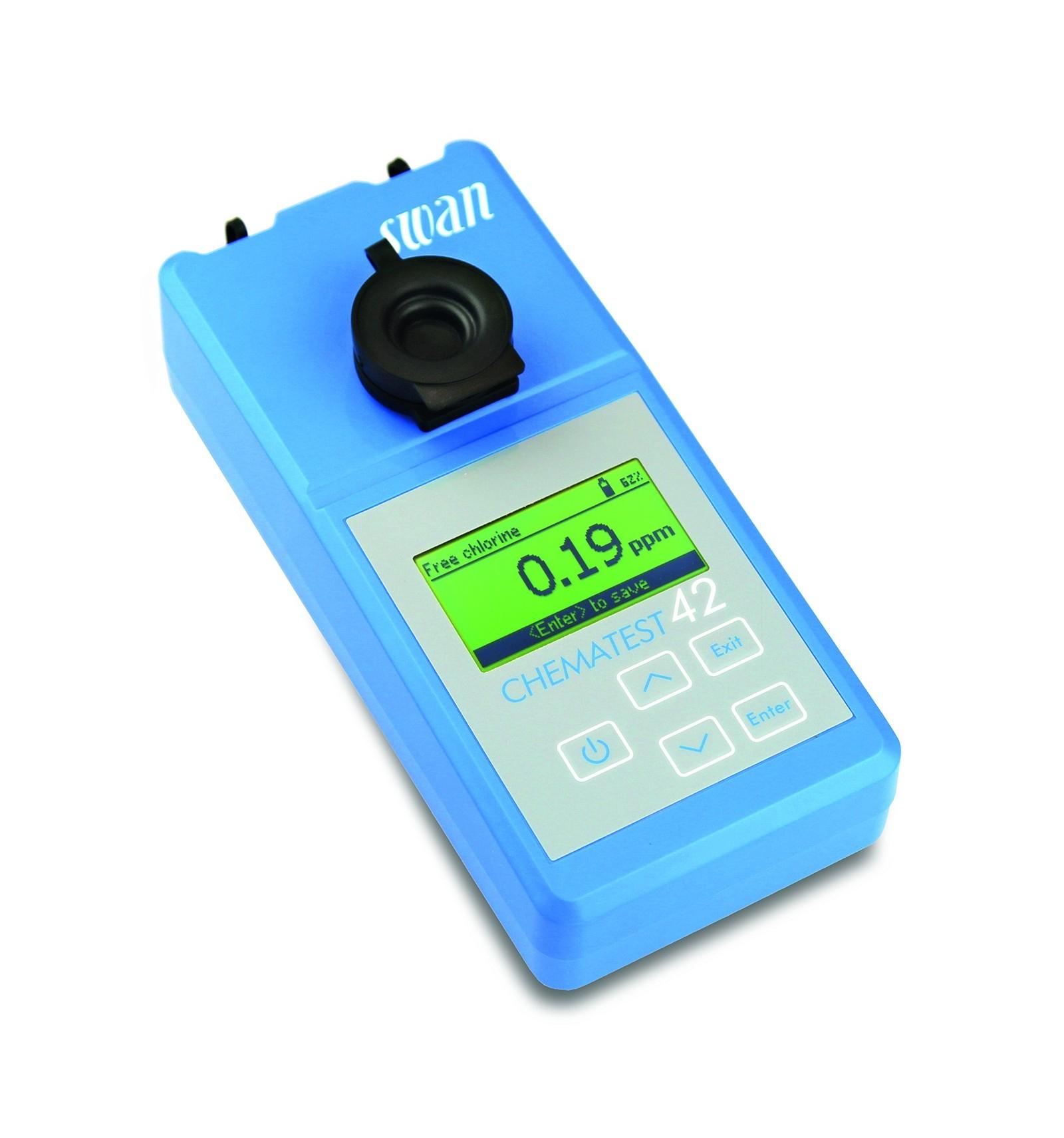Chematest 30 Swan Photomètre Piscine Collective A-70.065.030 encequiconcerne Photomètre Piscine