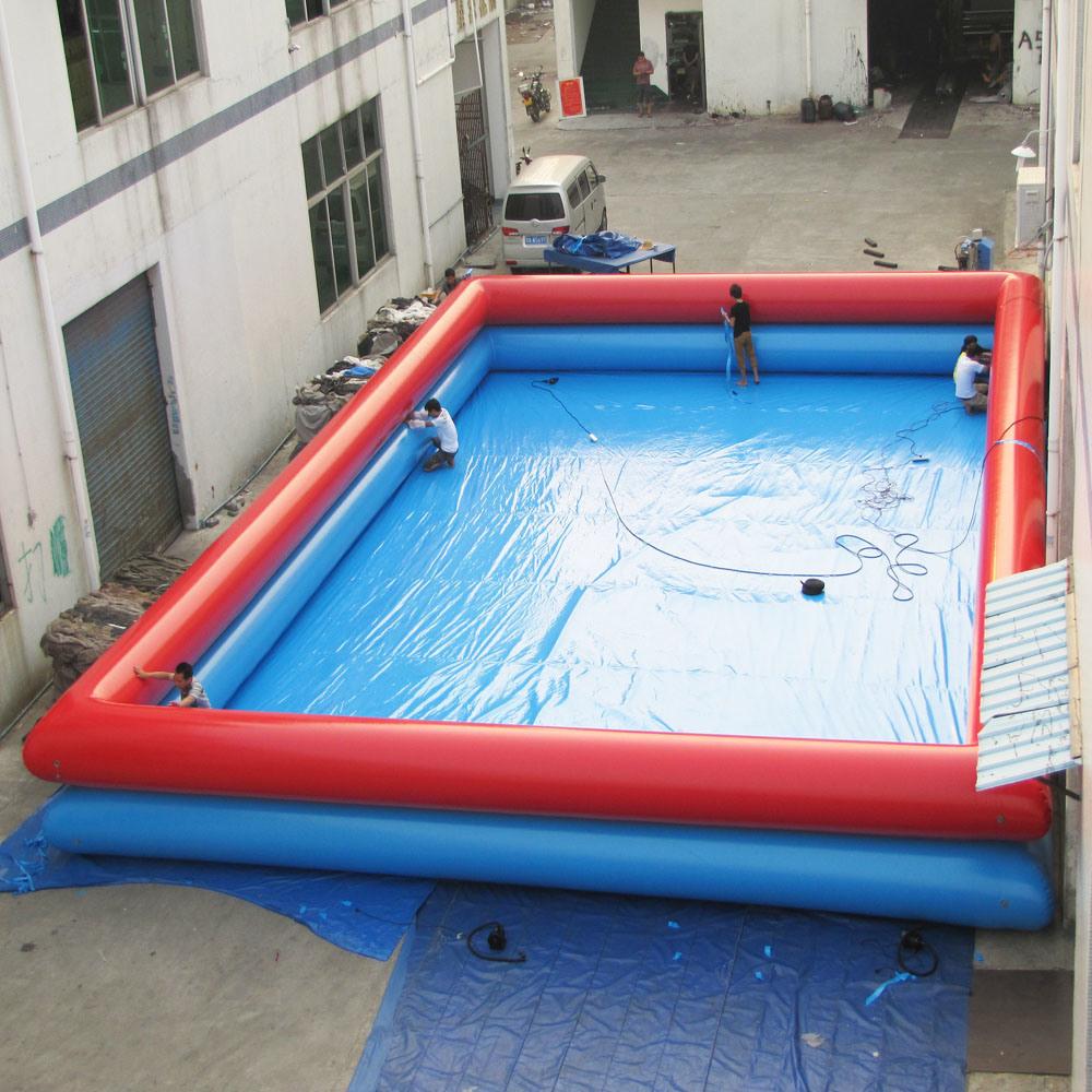 Chine Piscine Gonflable Carré Bleu – Acheter L'eau ... serapportantà Toboggan Piscine Gonflable