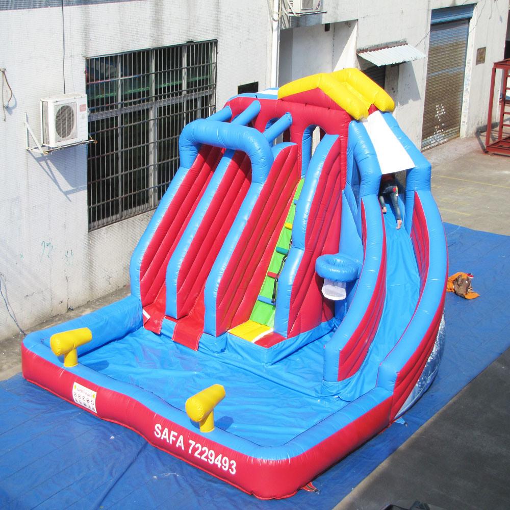 Chine Portable 3 Voies De L'eau Gonflables Pour Enfants ... avec Toboggan Piscine Gonflable
