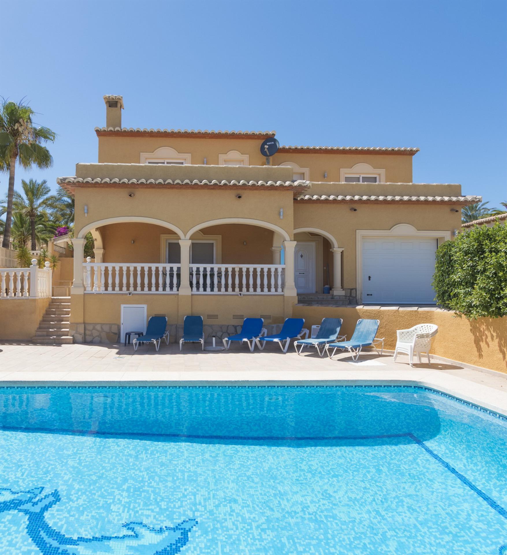 Chris - Villa À Calpe, Espagne concernant Location Villa Espagne Avec Piscine Privée