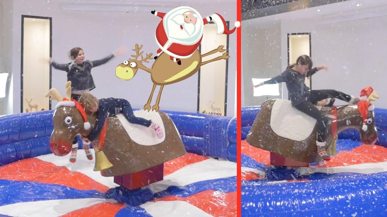 Christmas Story • Rodeo Renne Challenge Dans Notre Salon ... intérieur Piscine A Balle Gifi