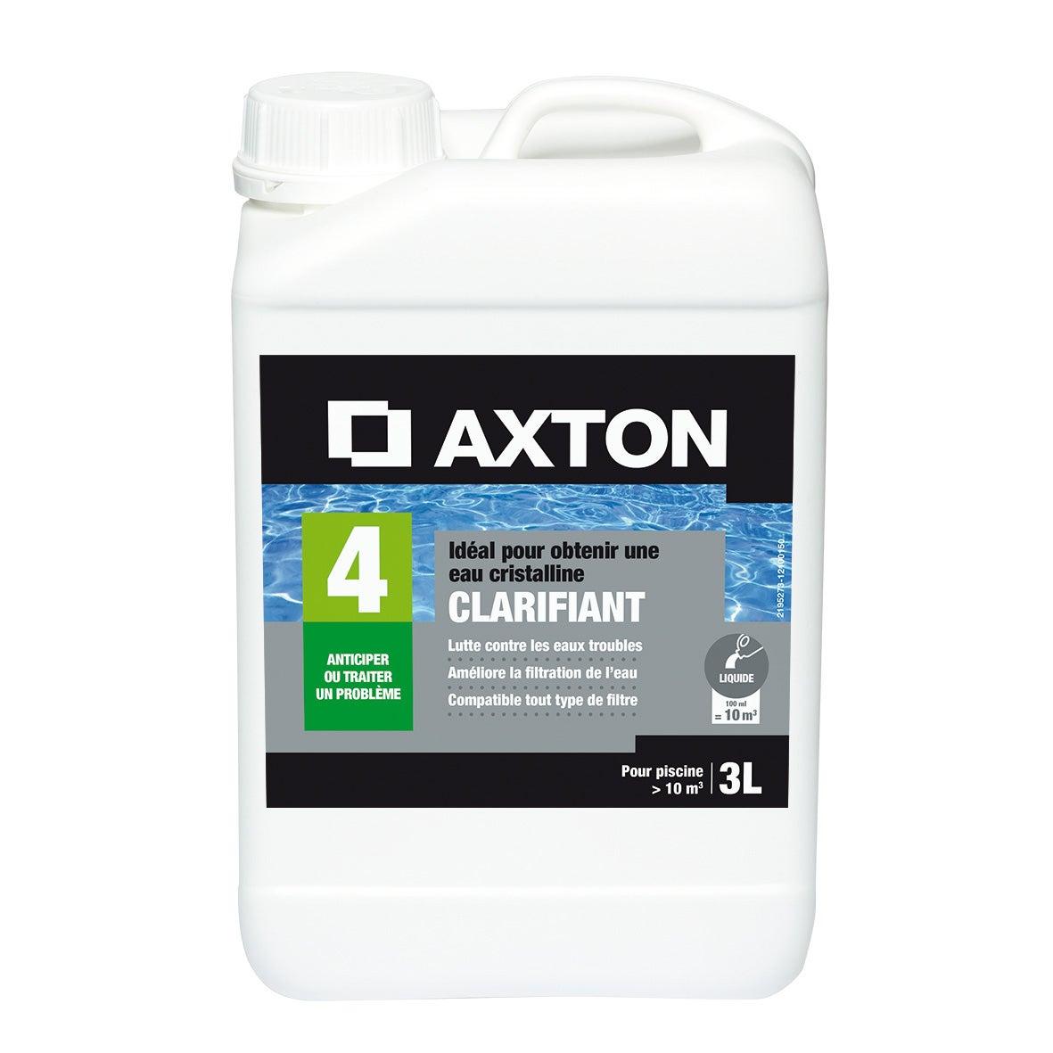 Clarifiant Piscine Axton, Liquide 3 L intérieur Clarifiant Piscine