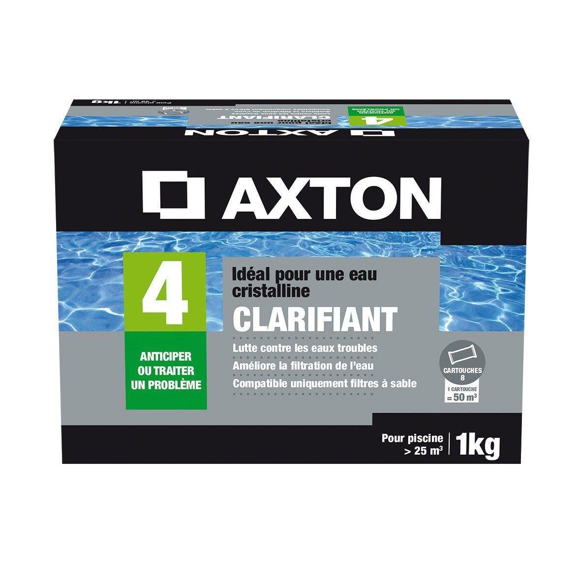 Clarifiant Piscine Axton, Tube 1 Kg | Products En 2019 ... dedans Clarifiant Piscine