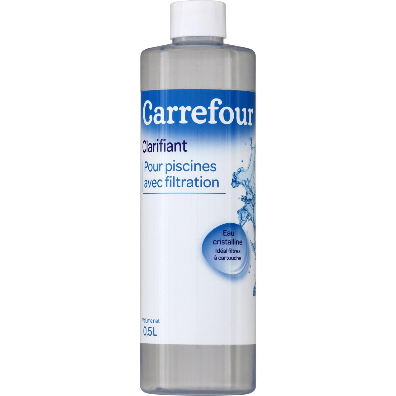 Clarifiant Piscines Avec Filtration Carrefour Carrefour - Le ... intérieur Clarifiant Piscine