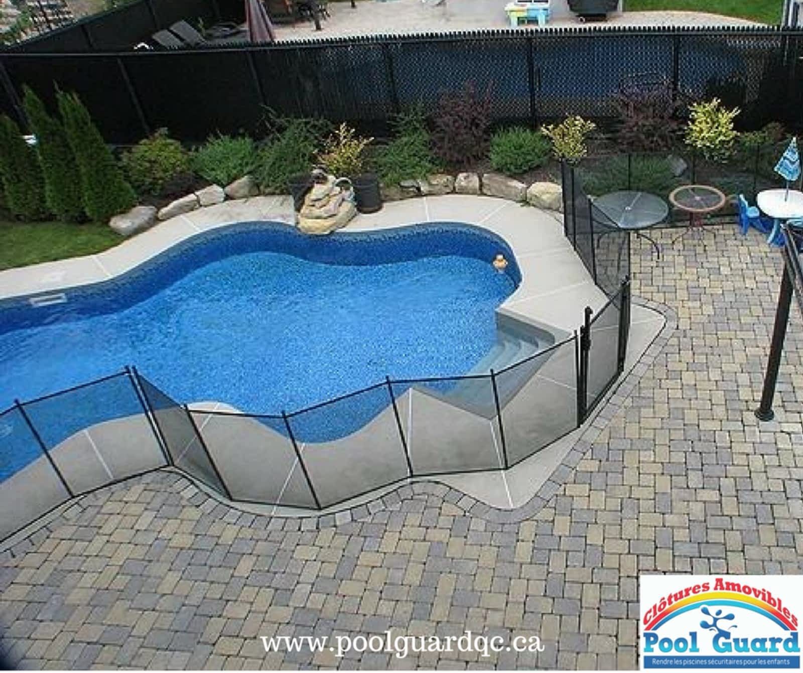 Clôtures Amovibles Pool Guard - Horaire D'ouverture - 690 ... à Barriere Piscine Amovible