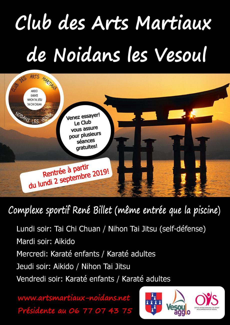 Club Des Arts Martiaux - Noidans-Lès-Vesoul - (Sports ... pour Piscine Noidans Les Vesoul