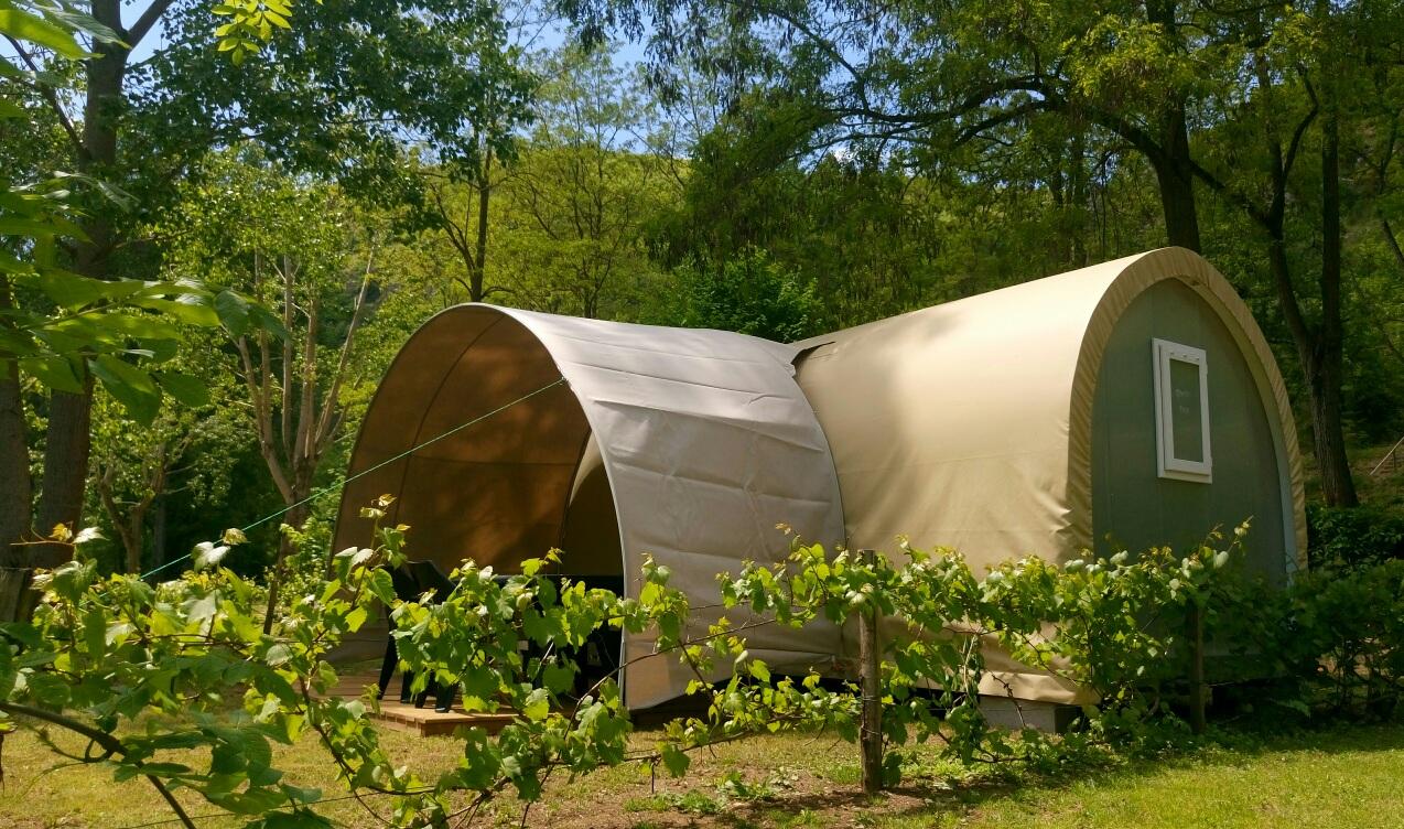 Coco Sweet Riverside 4 Persons - Camping Avec Piscine Et ... intérieur Camping Lozère Avec Piscine