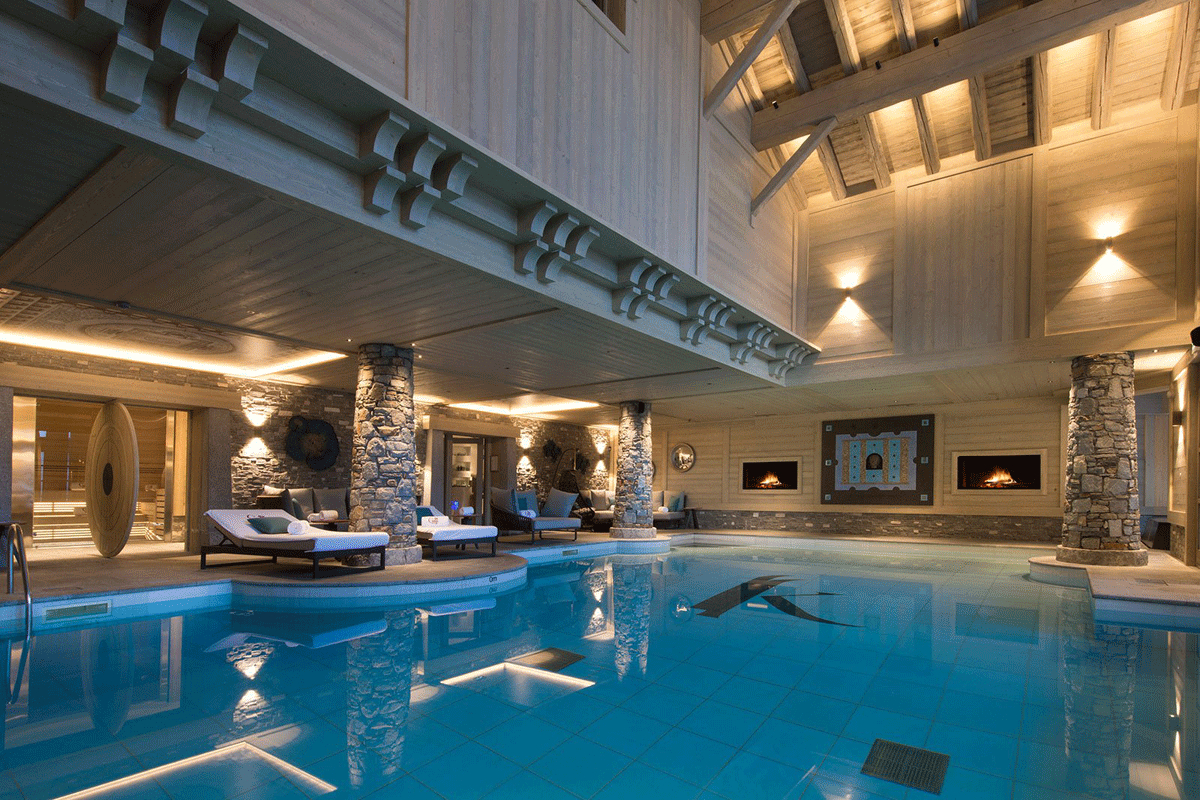Cocoonig Au Sommet, Nos 3 Adresses Spa À Courchevel | Spa ... serapportantà Piscine Courchevel