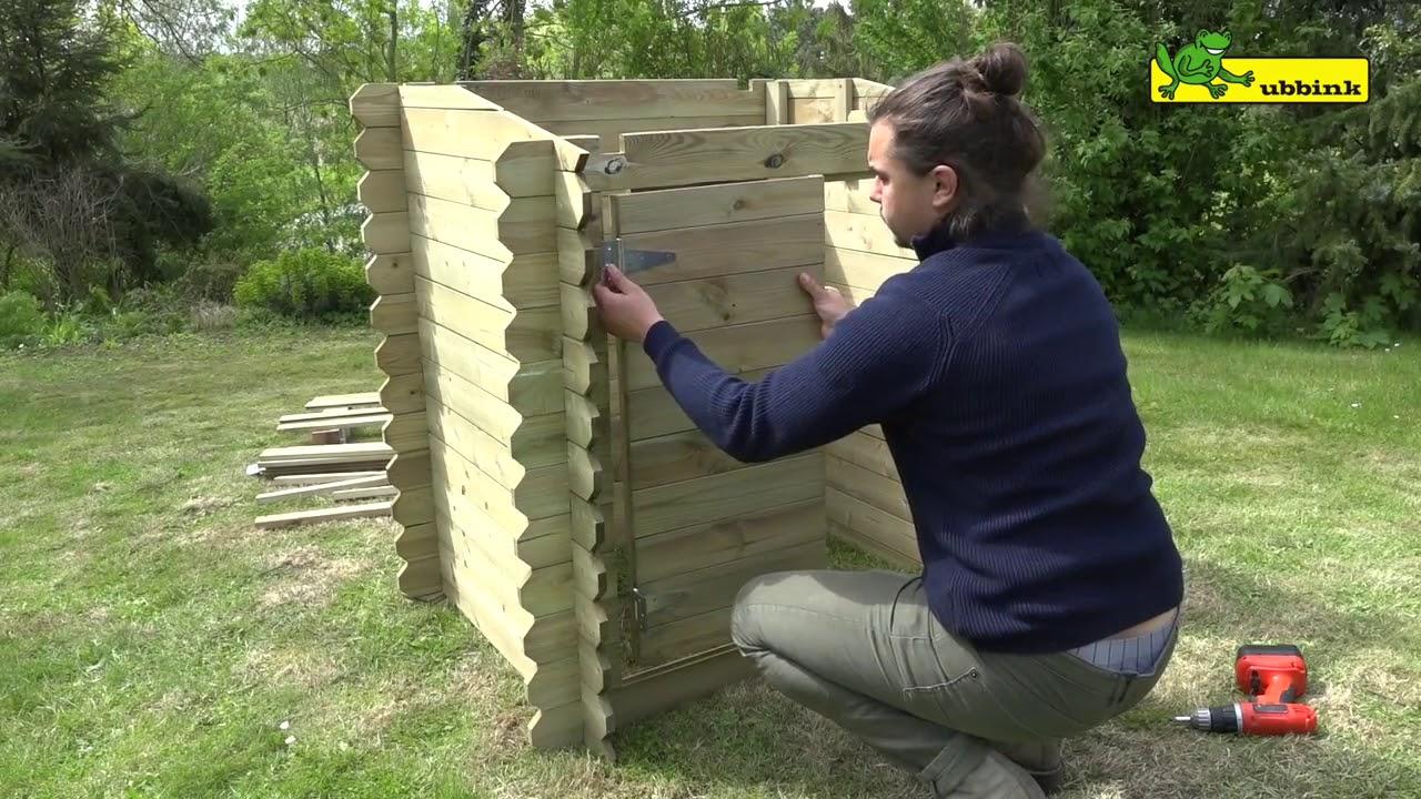 Coffre De Filtration En Bois Ubbink : Vidéo Montage intérieur Coffre De Filtration Piscine