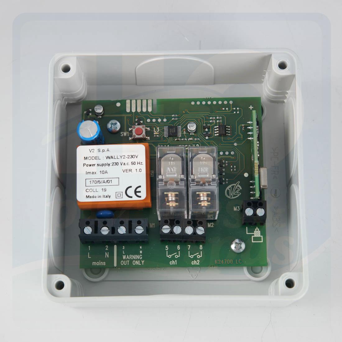 Coffret De Commande À Distance Pour Projecteurs Piscine - H2O Piscines &  Spas intérieur Coffret Piscine