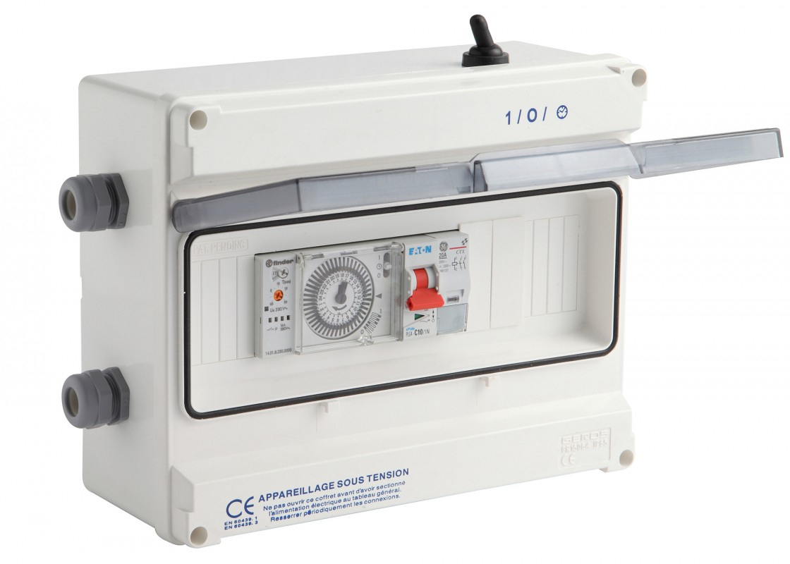 Coffret De Filtration Pour Escatop ® - Piscines Waterair avec Coffret Electrique Piscine