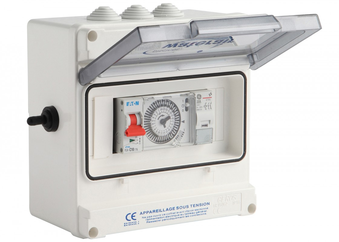 Coffret De Filtration Pour Escawat® - Piscines Waterair serapportantà Coffret Electrique Piscine