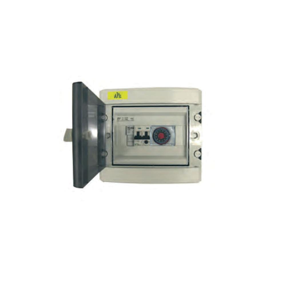 Coffret Électrique Filtration intérieur Coffret Piscine