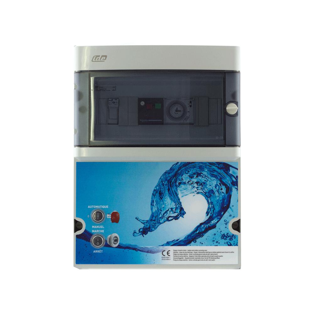 Coffret Électrique Filtration + Transfo encequiconcerne Coffret Electrique Piscine