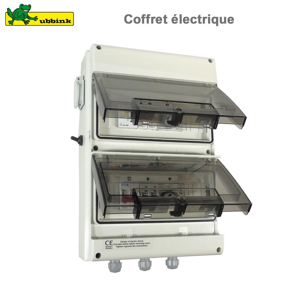 Coffret Électrique Premium Pour Piscine serapportantà Coffret Electrique Piscine