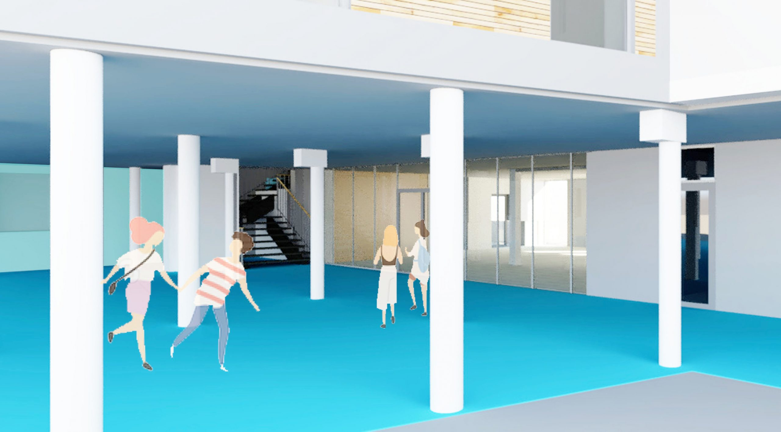 Collège Albert Camus De Lumbres : Extension Du Foyer Des ... dedans Piscine De Lumbres