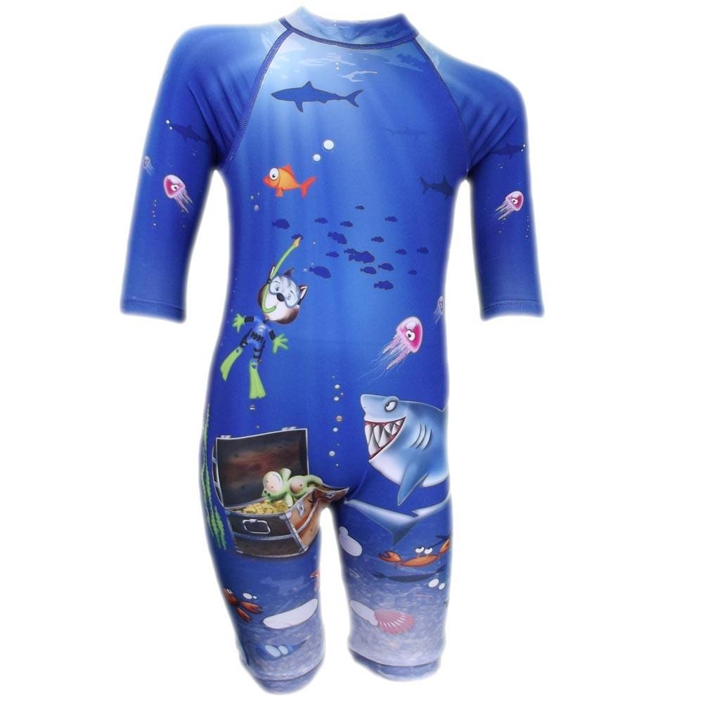 Combinaison Bleu Enfants, Maillot De Bain Anti Uv-Les Rêves ... concernant Combinaison Piscine Bébé