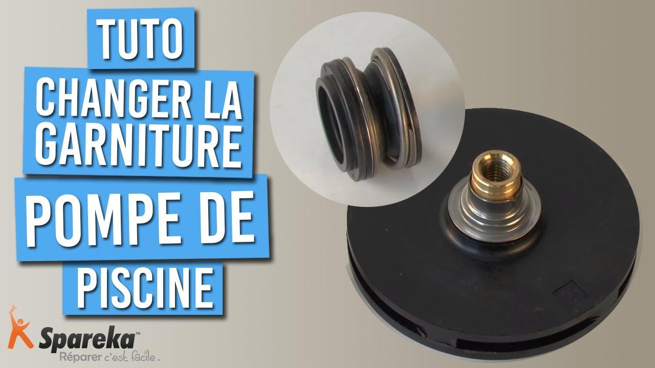 Comment Changer La Garniture Mécanique De Votre Pompe De Piscine ? pour Demontage Pompe Piscine