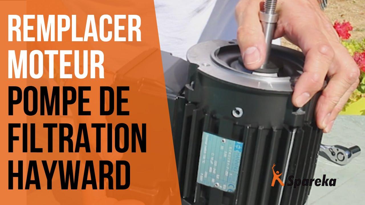 Comment Changer Le Moteur De La Pompe De Filtration Hayward ? avec Demontage Pompe Piscine