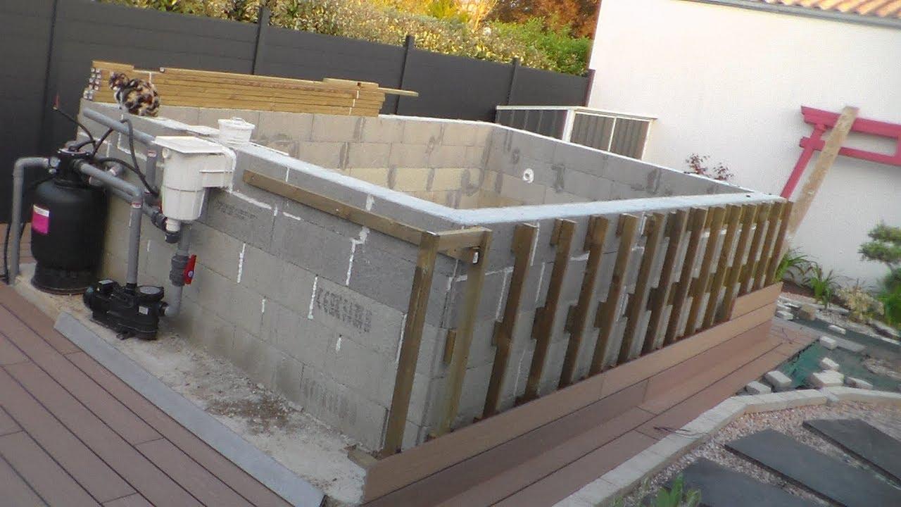 Comment Construire Sa Piscine Hors Sol, How To Build Your Aboveground Pool destiné Construire Sa Piscine Soi Meme