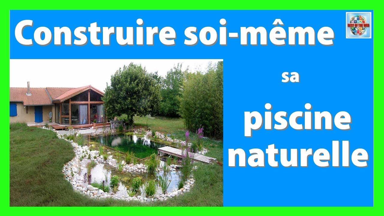Comment Construire Sa Piscine Naturelle Soi Meme – Pause Fun encequiconcerne Construire Sa Piscine Soi Meme