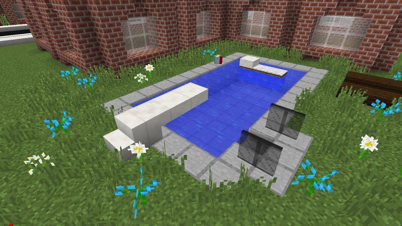 Comment Faire Une Piscine Minecraft pour Comment Faire Une Piscine