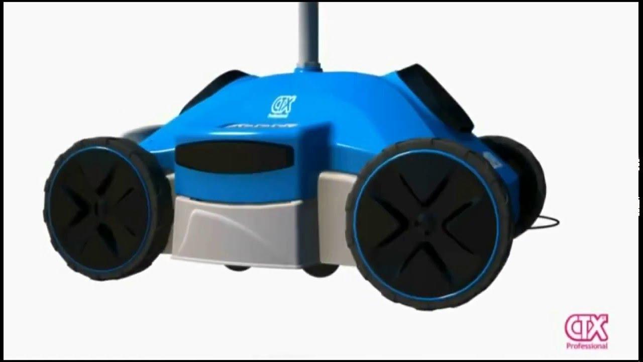 Comment Fonctionne Le Robot Électrique De Piscine Reaction Ctx serapportantà Robot De Piscine Electrique