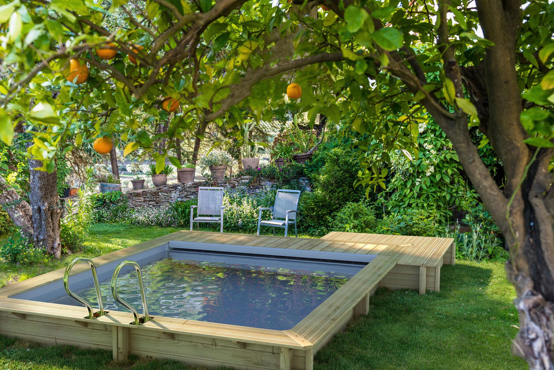 Comment Installer Une Piscine Dans Un Petit Jardin serapportantà Legislation Piscine Hors Sol