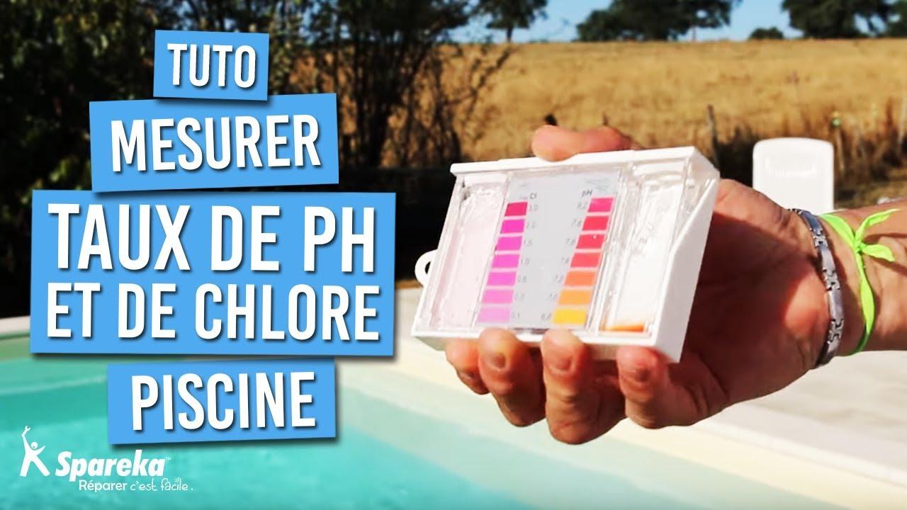 Comment Mesurer Le Ph Et Le Taux De Chlore D'une Piscine ? avec Analyse Eau Piscine