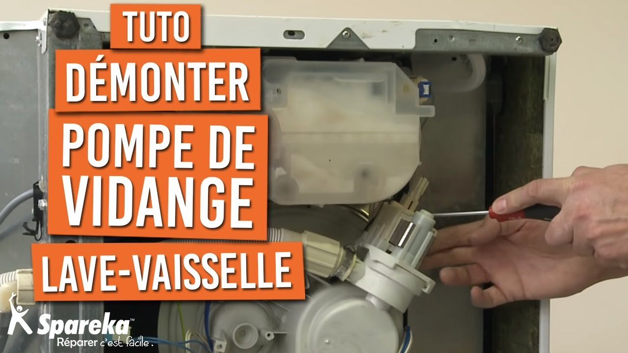 Comment Remplacer La Pompe De Vidange D'un Lave-Vaisselle ? destiné Demontage Pompe Piscine