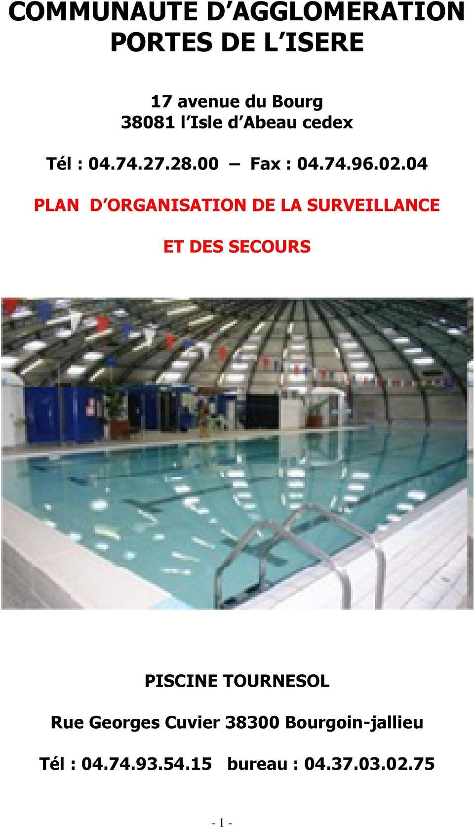 Communaute D Agglomeration Portes De L Isere - Pdf Free Download à Piscine Bourgoin Jallieu