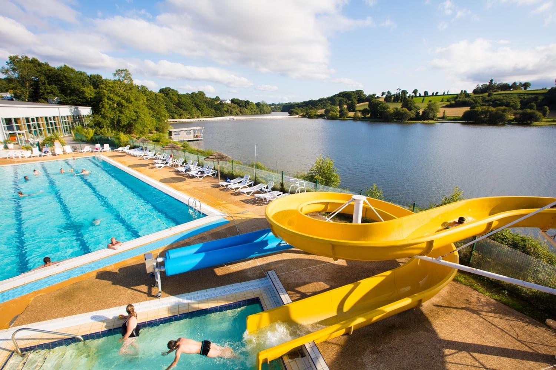 Complexe Aqua-Ludique À Jugon-Les-Lacs - Commune Nouvelle tout Piscine Jugon Les Lacs