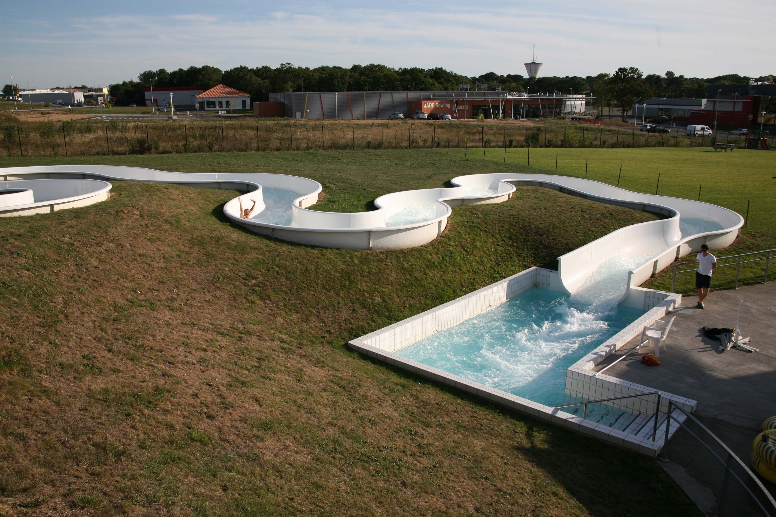 Complexe Aquatique Aquajade - La Loire À Vélo pour Piscine Saint Brevin