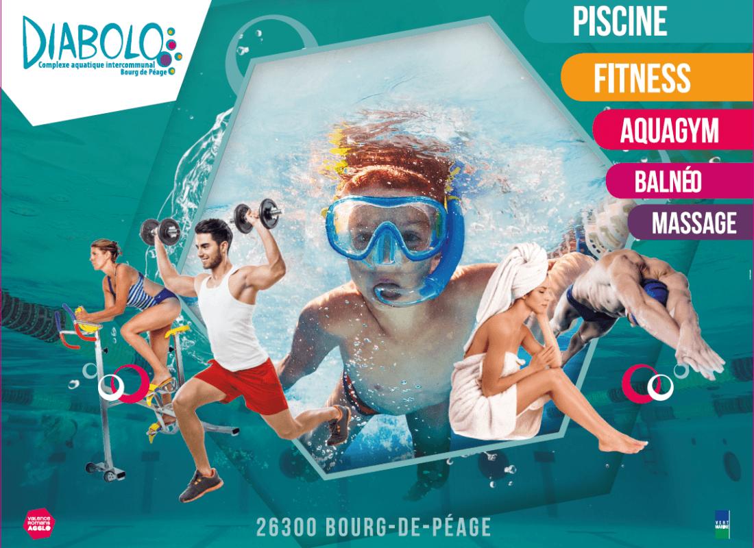 Complexe Aquatique Diabolo Espace Bien-Être | La Drôme Tourisme avec Diabolo Piscine