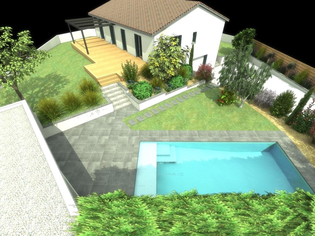 Construction De Piscine Sur Un Toit Ou Une Terrasse Condrieu ... encequiconcerne Piscine Brignais